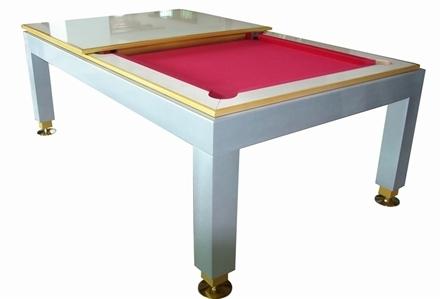 משהו רציני שולחן ביליארד משולב - השולחן הירוק AW-22